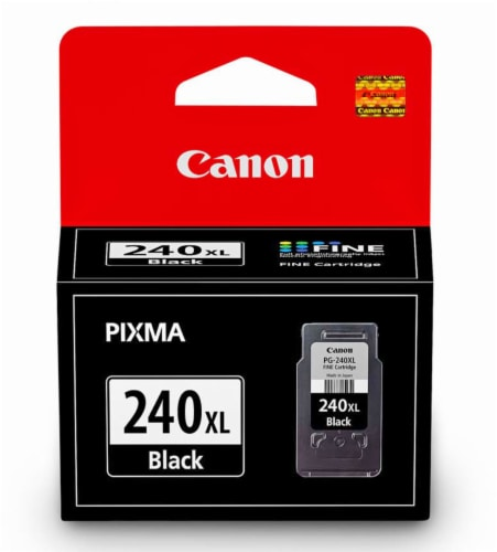 Canon PG-240XL Ink Cartridge - Black Perspective: front