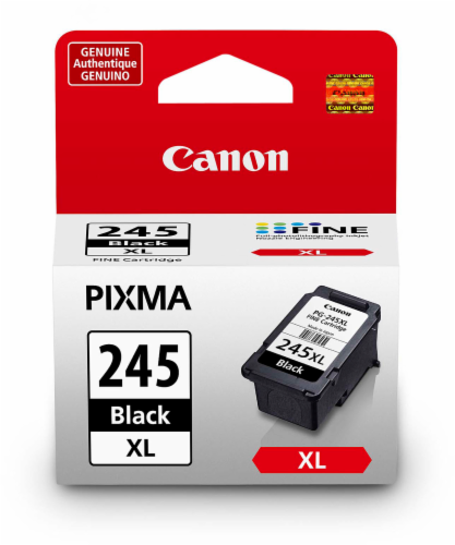 Canon Pixma PG-245XL Ink Cartridge - Black Perspective: front