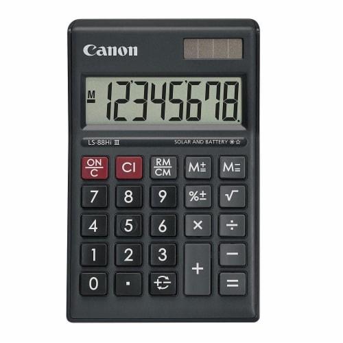 Canon Ls-88hi Iii-bk Business Calculator Perspective: front