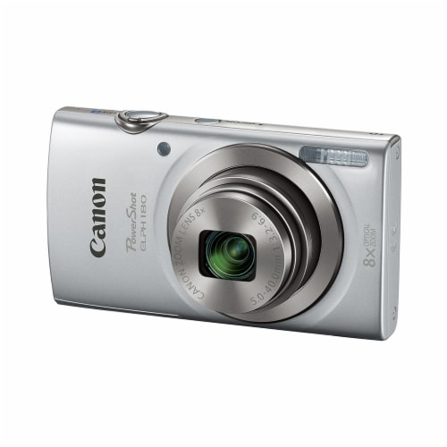 Canon PowerShot Digital Camera with Optical Zoom - Silver Perspective: front