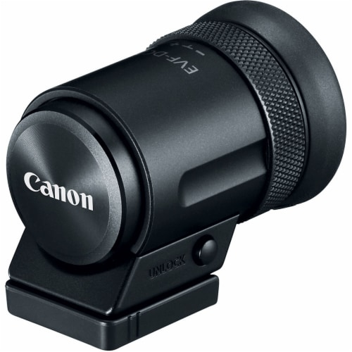Canon Evf-dc2 Electronic Viewfinder Perspective: front