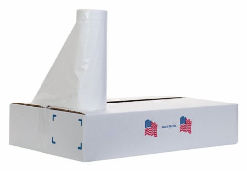 Noramco ST-Series 33 gal. Trash Can Liners Twist Tie 150 pk - Case Of: 1; Each Pack Qty: 150; Perspective: front