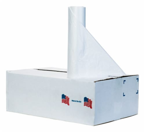 Noramco 45 gal. Trash Can Liners Twist Tie 250 pk - Case Of: 1; Each Pack Qty: 250; Total Perspective: front