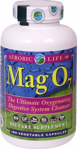 Aerobic Life  Mag O7 Ultimate Oxygenating Digestive System Cleanser Perspective: front