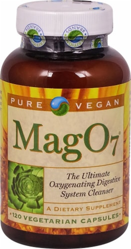 Pure Vegan  Mag O7 Digestive Cleanser Perspective: front