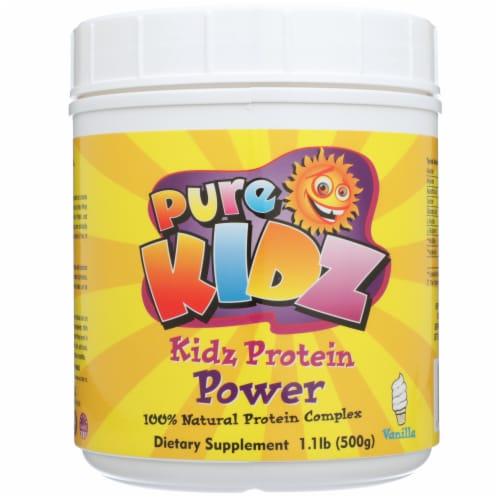 Pure Kidz Children's  Vanilla Protein Powder Perspective: front