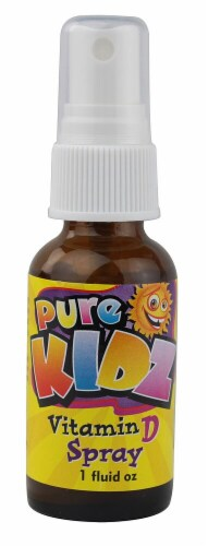 Pure Kidz Vitamin D Spray Perspective: front