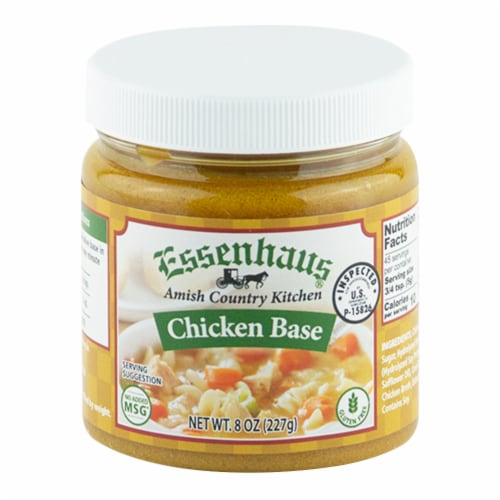 Essenhaus® Gluten Free Chicken Soup Base Perspective: front