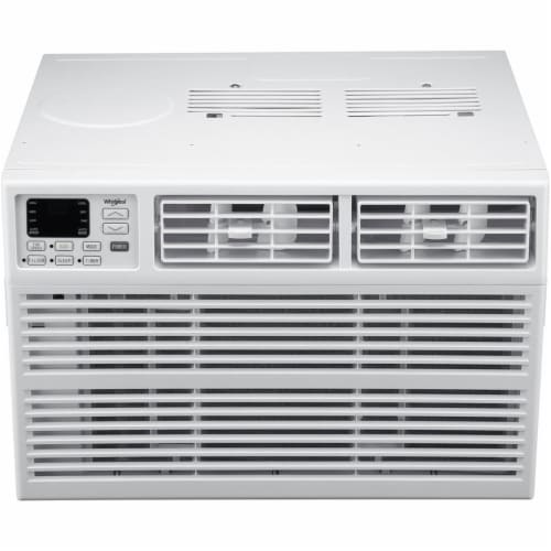 Whirlpool WHAW121BW 12000 BTU Window Mounted Air Conditioner with Electronic Controls Perspective: front
