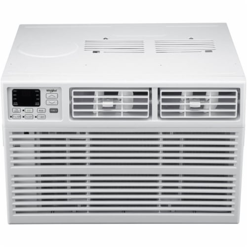 Whirlpool WHAW182BW 18000 BTU Window Mounted Air Conditioner with Electronic Controls Perspective: front