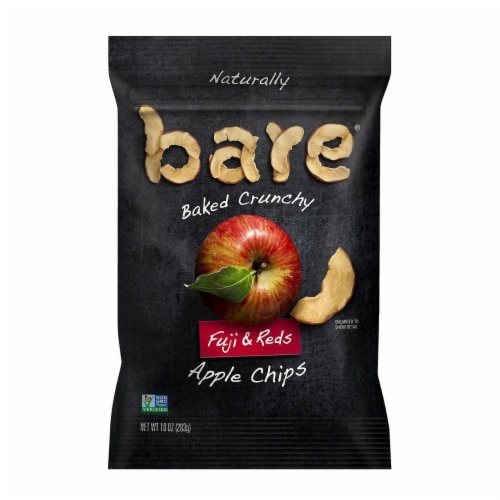 Bare Baked Crunchy Fuji & Reds Apple Chips (10 Ounce) Perspective: front