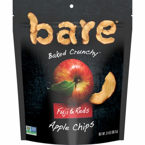 Bare Baked Crunchy Fuji & Reds Apple Chips Perspective: front