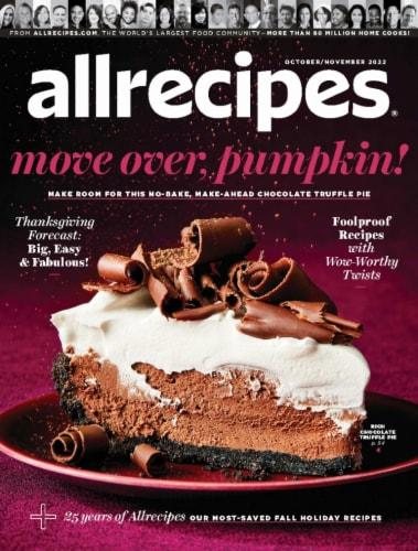 Allrecipies Magazine Perspective: front