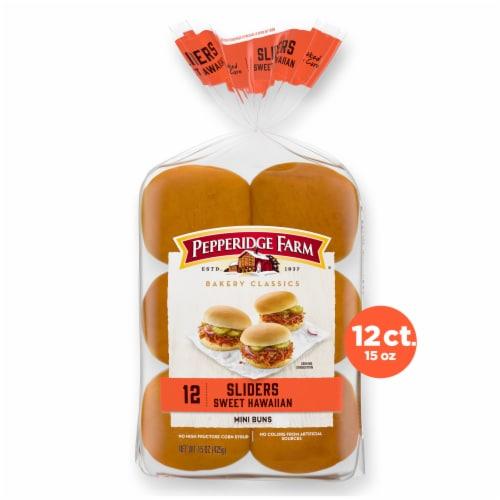 Pepperidge Farm Bakery Classics Sweet Hawaiian Slider Buns Perspective: front