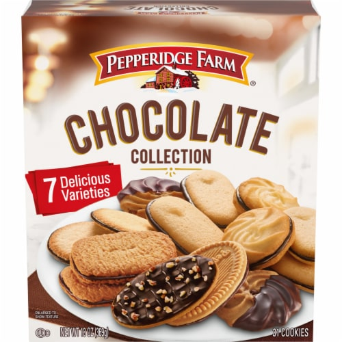 Pepperidge Farm Chocolate Collection Cookies Perspective: front