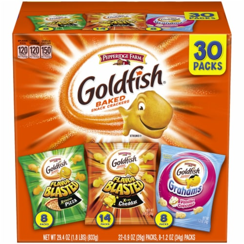 Goldfish Blasted Variety Pack Perspective: front