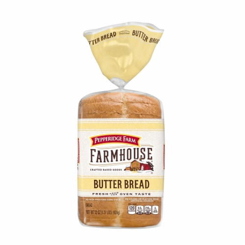 Pepperidge Farm Farmhouse Butter Bread Perspective: front