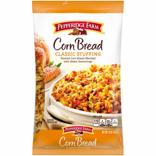Pepperidge Farm Classic Corn Bread Stuffing Perspective: front