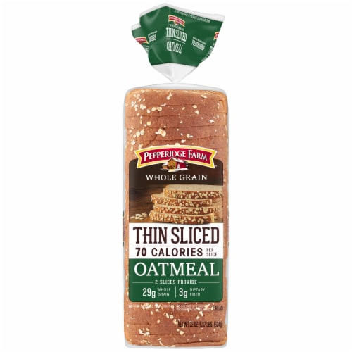 Pepperidge Farm Thin Sliced Oatmeal Bread Perspective: front