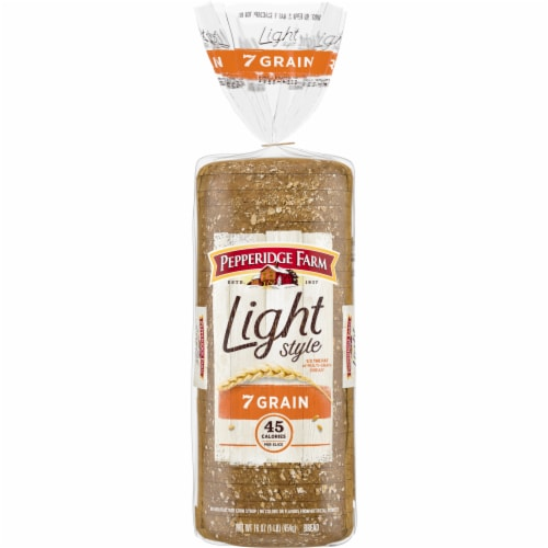 Pepperidge Farm Light Style 7 Grain Bread Perspective: front