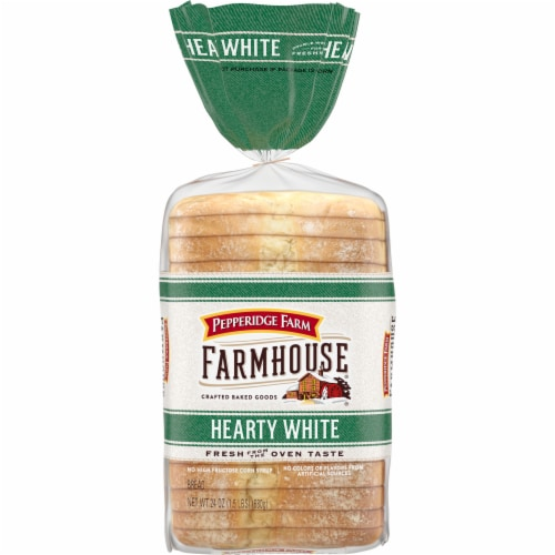 Pepperidge Farm Farmhouse Hearty White Bread Perspective: front
