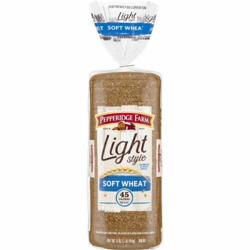 Pepperidge Farm Light Style Soft Wheat Bread Perspective: front