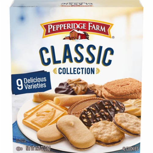 Pepperidge Farm Classic Collection Cookies Perspective: front