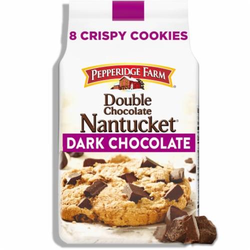 Pepperidge Farm Nantucket Double Dark Chocolate Cookies Perspective: front