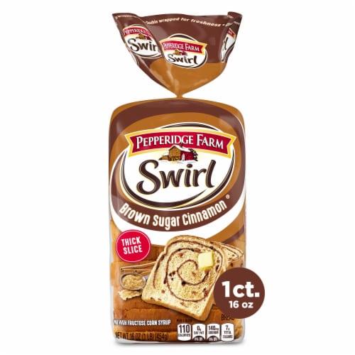 Pepperidge Farm Swirl Brown Sugar Cinnamon Breakfast Bread Perspective: front