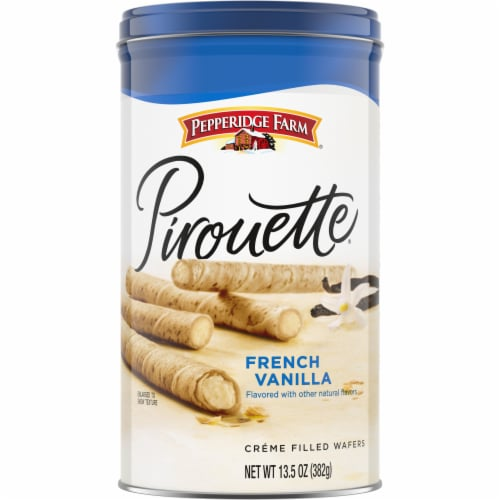 Pepperidge Farm Pirouette French Vanilla Creme Filled Wafers Perspective: front