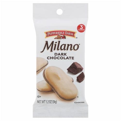 Milano Dark Chocolate Cookies Perspective: front