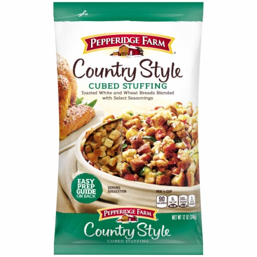 Pepperidge Farm Country Style Cubed Stuffing Perspective: front