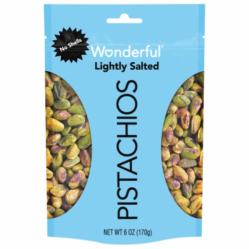 Wonderful Shelled Lightly Salted Pistachios Perspective: front