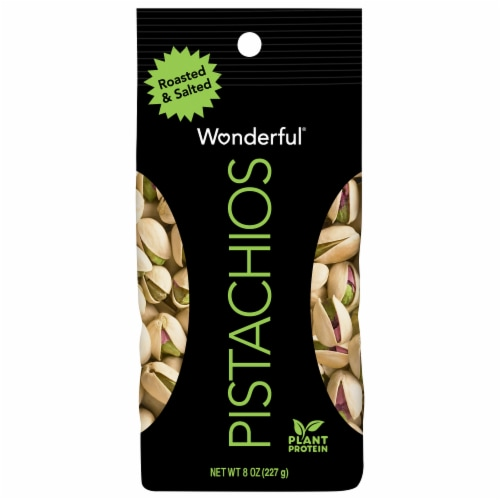 Wonderful® Roasted & Salted Pistachios Perspective: front