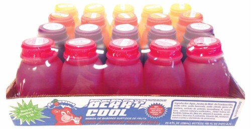 Snowtime Berry Cool Drink Assortment Perspective: front