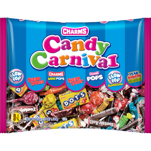 Charms Candy Carnival Variety Candy Bag Perspective: front