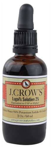 J. Crow's  ® Lugol's Solution 2% Perspective: front