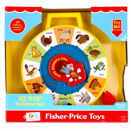 Fisher-Price® See 'N Say The Farmer Says Talking Toy Perspective: front