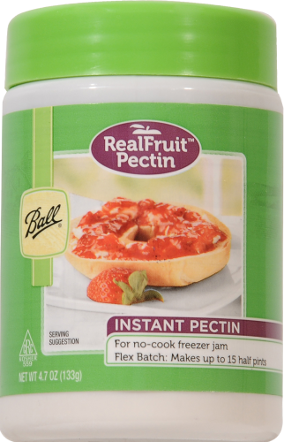 Ball Real Fruit Instant Pectin Perspective: front
