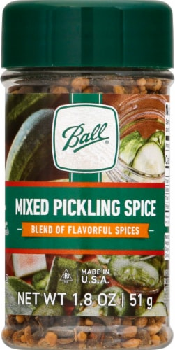 Ball® Mixed Pickling Spice Perspective: front