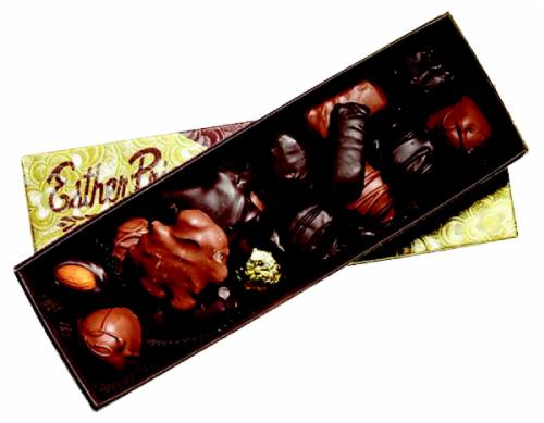Esther Price Milk & Dark Chocolates Perspective: front