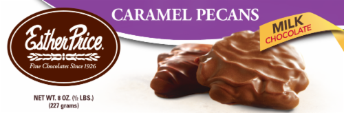 Esther Price Caramel Pecans Milk Chocolates Perspective: front