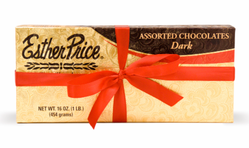 Esther Price Assorted Dark Chocolates Perspective: front