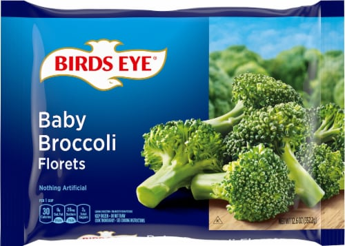 Birds Eye Baby Broccoli Florets Perspective: front