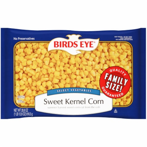Birds Eye Sweet Kernel Corn - Family Size Perspective: front
