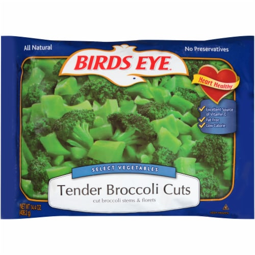 Birds Eye Select Vegetables Tender Broccoli Cuts Perspective: front