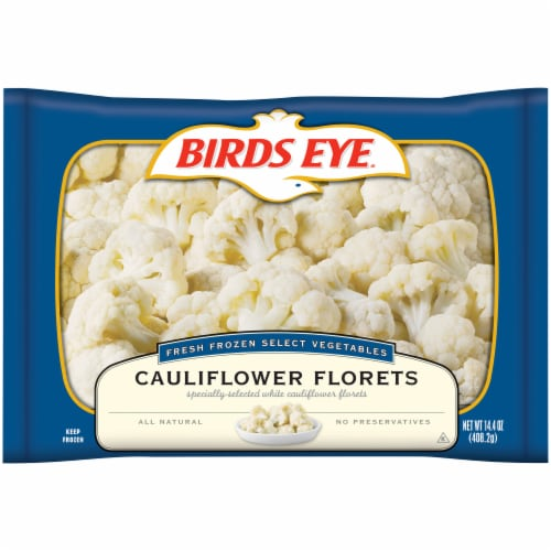 Birds Eye Select Vegetables Cauliflower Florets Perspective: front
