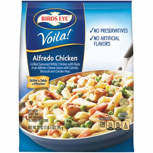 Birds Eye Voila! Alfredo Chicken Perspective: front