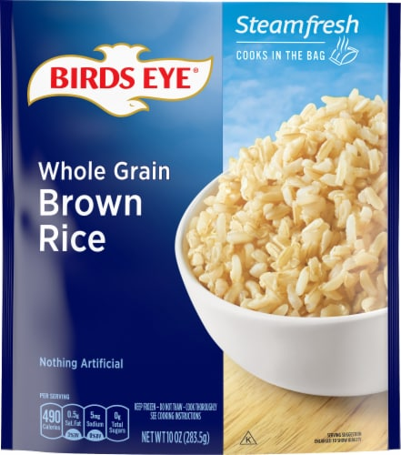 Birds Eye Steamfresh Whole Grain Brown Rice Perspective: front