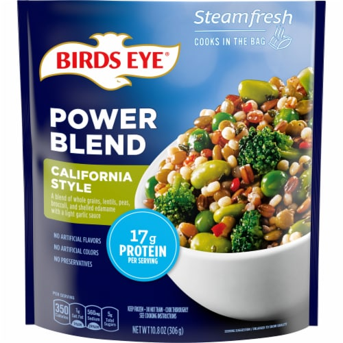 Birds Eye Steamfresh Protein Blend California Style Vegetables Perspective: front